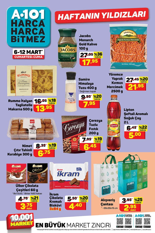 A101 6 Mart 2021 Aktüel Ürünler Kataloğu Görseli İkinci Sayfası