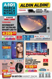 A101 4 Mayıs 2021 (6 Mayıs) Aktüel Ürünler Kataloğu