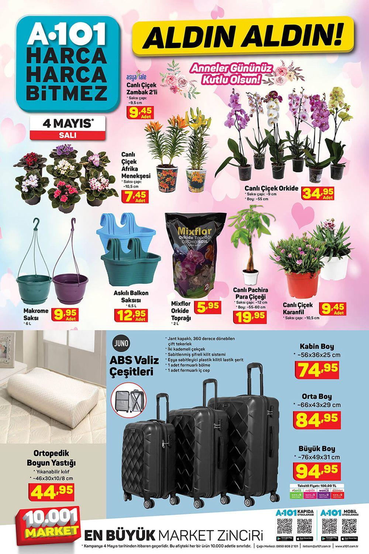 A101 4 Mayıs 2021 AKTÜEL ÜRÜNLER KATALOĞU 6. Sayfa