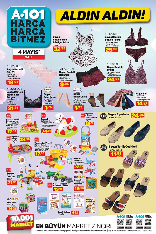 A101 4 Mayıs 2021 AKTÜEL ÜRÜNLER KATALOĞU 8. Sayfa
