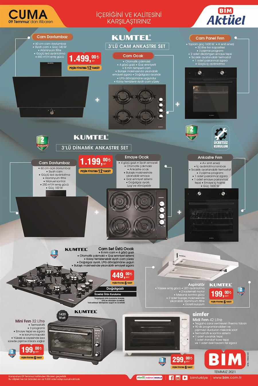 Bim 9 Temmuz 2021 Aktüel Ürünler Kataloğu Sayfa 1 - Kumtel Ürünleri