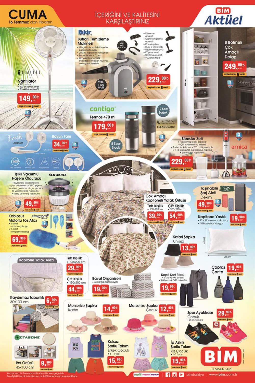 Bim 16 Temmuz 2021 Aktüel Ürünler Kataloğu Sayfa 1 - Aktuel-Urunler.Com