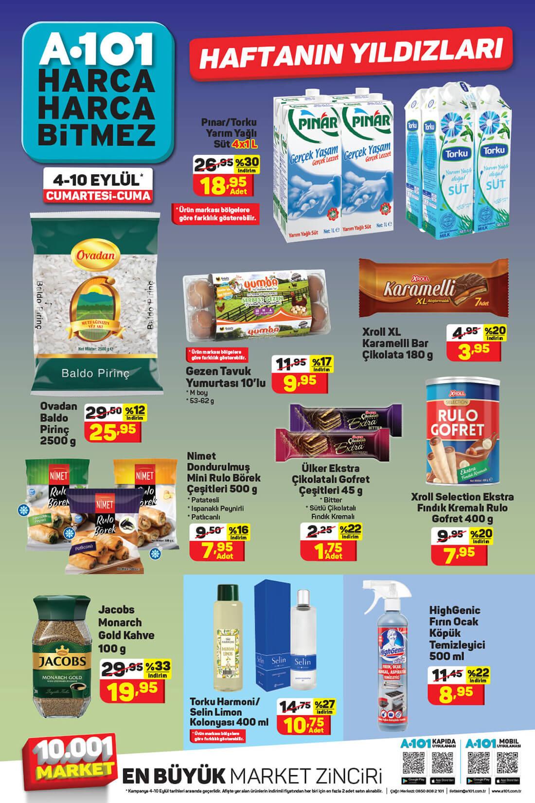 A101 4 Eylül 2021 Hafta Sonu Aktüel Ürünler Kataloğu