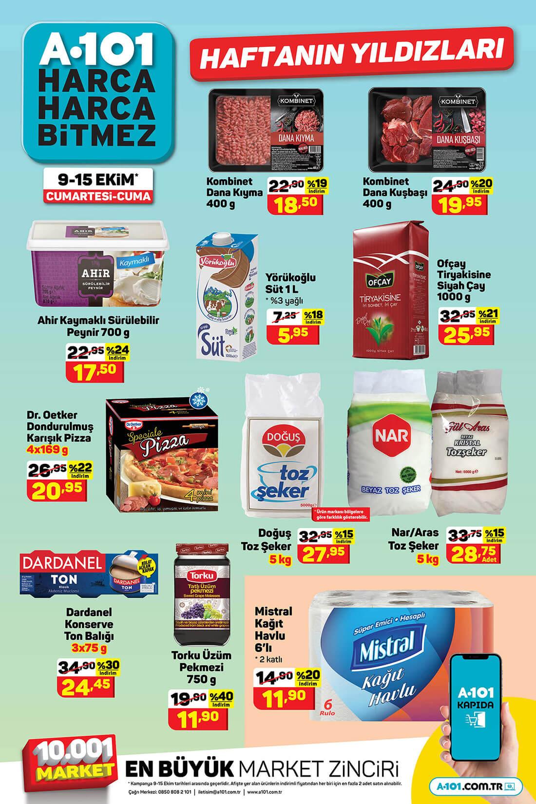 A101 9 Ekim 2021 Hafta Sonu Aktüel Ürünler Kataloğu